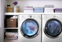 Perfect Clean Laundry Rooms / Electrolux front-load washers deliver a perfect clean in less time.