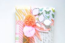 paper and gift wrap / by talktothesun handmade