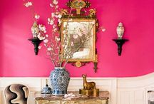 Spaces: Whimsical & Fun / Probably not my true style for a primary residence but definitely fun designs.  / by Cynthia Crump