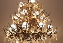 Lovely Light Fixtures / Gorgeous Lighting for the Home-Chandeliers, Pendants and sconces! / by Cynthia Crump