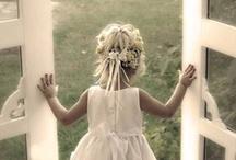 Flower girl Junior bridesmaid & Junior groomsman