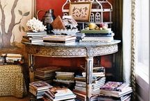 Cleverly Collected  / Less is a BORE! Organized and decorated clutter!  / by Cynthia Crump