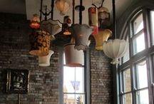 Lampen // light // Licht // lampshades / #light #licht #lampen #lamps #lampshades