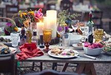 table / #table decoration #Tischdekoration #pottery #ceramics #porcelain #porzellan #keramik