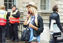 Style Snaps : International Fashion Weeks SS 2014