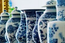 Blue & White: Ginger Jar Love / Blue Willow, Traditional and Asian Inspiration. Pops of color can fit into any space for a little surprise. / by Cynthia Crump