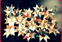 Christmas / Christmas ornaments made of recycled materials by ntintimania