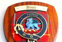 Clan Bruce (Family of Bruce) Products / http://www.scotclans.com/scottish_clans/clan_bruce/shop/ - The Bruce clan board is a showcase of products available with the Bruce clan crest or featuring the Bruce tartan. Featuring the best clan products made in Scotland and available from ScotClans the world's largest clan resource and online retailer.
