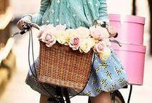 sweet tweed / tweed ride, tweed run, vintage bicycles, steampunk, sherlock style / by Nicole Gade