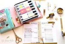 Get Organized With a Planner / My planner is what keeps me together! Here you'll find lots of adorable inspiration for staying organized in style!