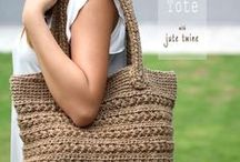 Mama's got a brand new bag... / Bags to knit and crochet