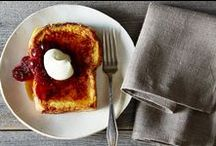 Breakfast / Rise and make every morning shine with these modern and inspired dishes.