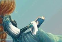 Libros, a leer... Books, I love reading