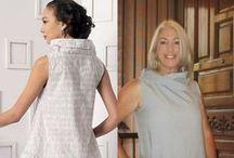 Marcy Tilton's Cirque Dress for Vogue V9112