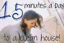 Cleaning / Tips and tricks to make cleaning easier. / by Sarah Dail