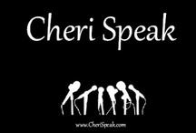 Cheri Speak Blog Images