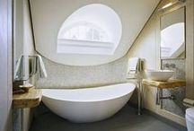 In the Bathroom / Bathroom stuff: bathroom designs, tubs, taps, bathroom decoration... In short: nice things for the bathroom.