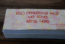 Showing some Teacher Love! / PTO, room mom, parties / by Autumn Bridges