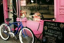 Cafe Cafe Cafe / and pretty shops  / by Sarah セーラ / Nomad's Land