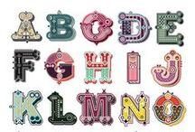 inspiration - font / by Julie Davis
