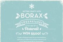 Getting Crafty with 20 Mule Team Borax / Find different ways to us 20 Mule Team Borax in your home / by Take It From Me