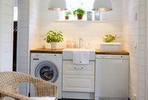 Laundry Room + Mud Room + Garage + Closets
