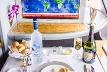 First Class: Dining / Love food? How about fine dining above the clouds? Here are our most favorite dishes available in first class on the best airlines in the world!