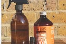 D.I.Y Beauty and Cleaning products / Make your own products.