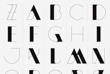 Fonts / Fonts, type, typeface, scripts, serifs, monotypes, slabs and all other kinds of letter designs.