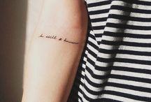 Tattoos / by Jenna Gundelach