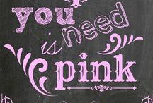 and PINK gets me high as a kite