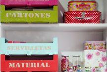 Organización en casa / Ideas y trucos para aprovechar el espacio en casa