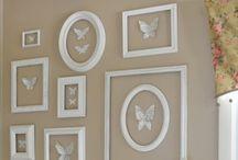Decoración de paredes / Las paredes bien vestidas, elegantes, originales y divertidas