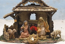 """Away In A Manger"" / Away in a manger, no crib for a bed, the little Lord Jesus laid down his sweet head. The stars in the sky looked down where he lay, the little Lord Jesus, asleep on the hay.