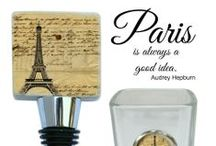 Paris France Gifts / Paris France gifts with a vintage flair.  Wholesale gifts for retailers with a Paris theme designed by Classic Legacy