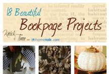Book Crafts & Creations / Cool stuff make with books!