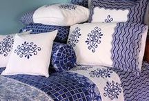 COMFORTERS & FUN PILLOWS / Sheets for the bed/accent pillows / by Rebecca McCray