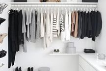 Wardrobes & Dreamy walk-ins / by Evi .