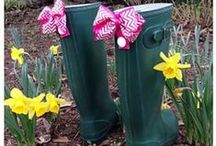 Bootbows / Boot bows to accessorize your favorite boots! / by Classic Legacy Custom Gifts