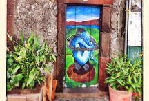 Portas de Madeira / Dörrmålningar från Madeira