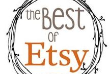 Best of ETSY / Etsy treasures, featured shops, inspiring workspaces/studios, and many handmade finds To join the board please send a request via DM :)