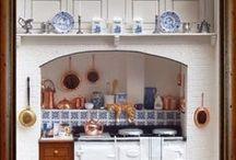 Miniaturas cocinas / Todo para las cocinas de las casas de muñecas
