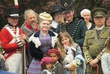 Through the Ages / 23rd - 25th May 2015 Kentwell Hall turned back the clock to re-create over 500 years of history. Over 10 historical periods were brought to life over the bank holiday weekend.