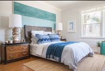 Inspiring Bedrooms & Bathrooms / by Janery (Jane Pearson)