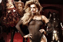 Seductive Body Wear / Fishnet, Sheer Lace Chemise, Nylon Body Suits