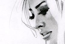 Fashion & Figure Drawing / by Kristina Lacson McConnico