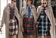 Interesting Tartan Ladies' Wear / A creative board full of inspiring ways for Women to wear Tartan.
