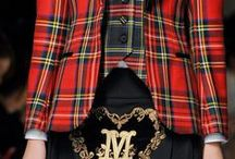 Tartans & Tweeds on the Runway / Couture anyone? Fashion catwalks are always filled with some of the best designs, and this is where the high street take inspiration from.  We'll be adding photos from Fashion Weeks around the world, and other Fashion editorials that are heritage inspired.