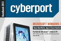 Technik zum Schmökern / Cyberport ist weit mehr als Webshop oder Store. Bestellt jetzt euer Gratis-Exemplar des neuen Handbooks, ladet es als PDF herunter oder blättert online durch den Katalog. / by Cyberport GmbH