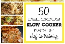 Recipes for Slow Cooker & Crockpot & Queen for a Day / Anybody like me and always cooking on high?  Crock Pots and Slow Cookers are great inventions, just like the Microwave Oven